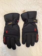 Spyder Black Ski Gloves S Gore-tex