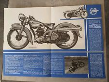 PUCH 350 GS GELÄNDESPORT PROSPEKT 1938 STEYR DAIMLER Oldtimer Motorrad