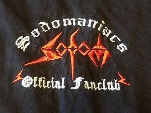 Sodom T-Shirt Einzelstück Slayer Venom Destruction Kreator Motörhead