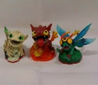 Skylanders Trap Team 3 Puppies High Five Life Funny Bone Undead and Hot Dog Fire