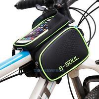 """Fahrradtasche Handy Rahmentasche Oberrohrtasche MTB bis 6.2"""" Iphone Smartphone"""