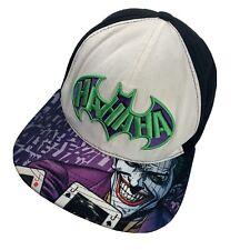 Batman Joker DC Comics Youth Ball Cap Hat Snapback Baseball