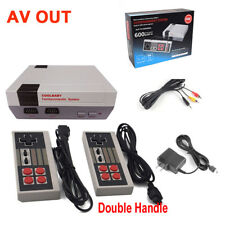 AV Mini Retro TV Game Console 8Bit Classic Built-in 600 Games Controller