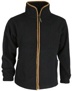 Huntsbury Country Fleece Jacket Black Warm Clothing Hunting/Shooting/Fishing XXL