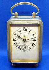 Horlogerie ancienne pendulette de voyage Japy Frères