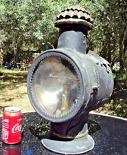 RARE ANCIENNE LAMPE LANTERNE DE LOCOMOTIVE CHEMIN DE FER TRAIN  SNCF