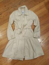 Gap Kids Girl Ruffle Trench Coat Cream M(8)Beautiful!