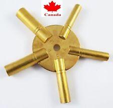 PARUU® clock repair key brass made watch repair 2-4-6-8-10 size st761A