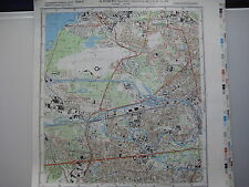 Charlottenburg Berliner Mauer Berlin Wall topographische Karte MfS NVA Grenze