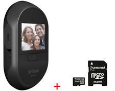 Brinno SHC500 12mm Digital Front Door Peephole Security Camera + 16GB Micro SD