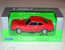Welly - 1969 FORD CAPRI (Red) - Die Cast Model Scale 1:24