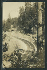 Or Grants Pass Rppc 1932 Pacific Highway at Sexton Mountain by Patterson No.553