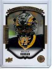 2015-16 Upper Deck Portraits Gold Rookie #83/99 Malcolm Subban #P-55