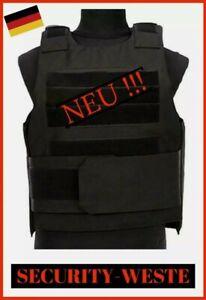 SECURITY-WESTE • Stich • Schlag • Schuss • Paintball • Türsteher • NEU ! •