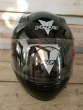 Vega Motorcycle Helmet Black Size Small