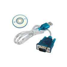 Usb 2.0 A Serial Rs232 Cable Adaptador Vga Db9 9pin Macho Pc teléfono móvil Win Xp