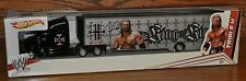 WWE Hot Wheels Die Cast Semi Truck Trailer Hauler Triple H King 2011 V8436 NEW