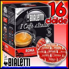 16 Capsule caffè BIALETTI ROMA cialde Mokespresso alluminio espresso Mokona