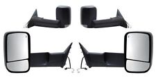 2009-2012 Dodge Ram 1500 2500 3500 Left / Right Heated Power Towing Mirror PAIR