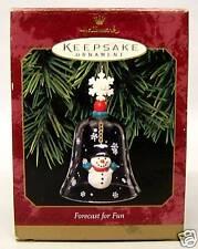 "1999 Hallmark Ornament, Titled ""Forecast For Fun"""