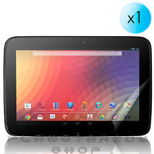 "1 x cover PROTECTOR SCREEN ULTRA CRYSTAL CLEAR TABLET GOOGLE NEXUS 10"" LCD"