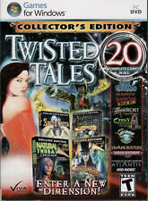 SANDMAN WHISPERED STORIES Hidden Object TWISTED TALES 20 PACK PC Game DVD NEW