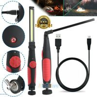 10W 10000 Lumen Rechargable Magnetic Slim Bar Folding LED Work/Shop/Auto Light