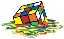 You make your T shirt with an iron - (BIG) Rubiks Cube Melting