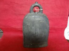 Rare Fine Antique Asian Buddhist Temple Bell With Nice Decoration