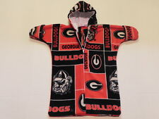 Ncaa Georgia Bulldogs printed Fleece Baby Bunting Coat Newborn to 6 Mo