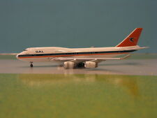BIG BIRD SOUTH AFRICAN AIRWAYS 747-400 1:500 SCALE DIECAST MODEL