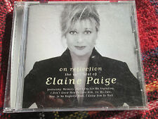 Elaine Paige On Reflection The Very Best of Elaine Paige Telstar TV CD Album