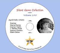 "DVD ""April Folly"" (1920) starring Marion Davies, Classic Silent Drama"