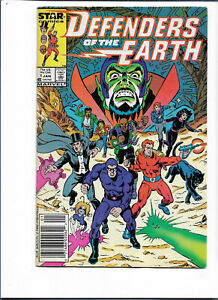 DEFENDERS OF THE EARTH#1 VF/NM 1987 MARVEL COMICS