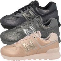 New Balance WL 574 SO Schuhe Damen Sneaker Worn Metallic Turnschuhe WL574SO