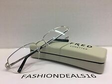 New FRED Lunettes Authentic w/TAGS 8433 002 Silver WINCH N1 57mm Eyeglasses
