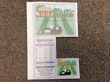 mini Bowling Green pattern cross stitch chart only m10