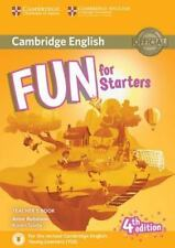 Fun for Starters Teacher's Book with Downloadable Audio, Saxby, Karen, Robinson,