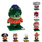 NCAA College 3D BRXLZ Team Mascot Puzzle Construction Block Set - Pick Team!