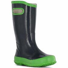 Bogs Kids' Boots Rainboot Navy Lightweight, Navy/Green, Size 11 (71326-411-110)