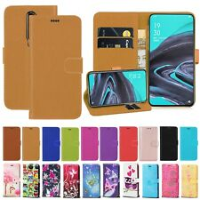 For OPPO Reno 2 OPPO Reno 2Z Shockproof PU Leather Wallet Flip Stand Case Cover