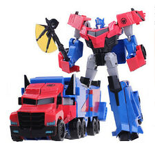"Transformers Robots in Disguise RID Optimus Prime 8"" Toy Action Figure New"
