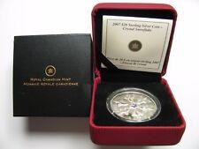 2007 Proof $20 Crystal Snowflake #2-Iridescent Canada .925 silver twenty dollars