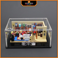 Display stand and case for LEGO Ideas: The Big Bang Theory (21302)