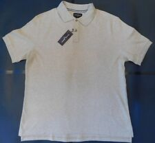 NWT Black & Brown (by Lord & Taylor) Tan Polo 100% Soft Cotton Jersey XL (SSP92)