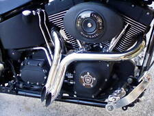 """1 .75"""" Drag LAF Pipes Mufflers Exhaust for Harley Touring Dyna Softail Sportster"""