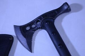 Heavy Duty Sharp FBIQQ Survival Tactical Tomahawk Hammer Multi-functional Ax