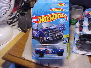 Hot Wheels HW Speed Graphics K&N '15 Ford F-150 Blue 2018 Factory Seal Sticker