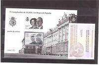 Prueba Oficial 114 - 75 Cumpleaños de SS.MM. Los Reyes de España