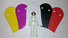 5 - Pack of Vintage Star Wars Princess Leia Action Figure Custom Capes